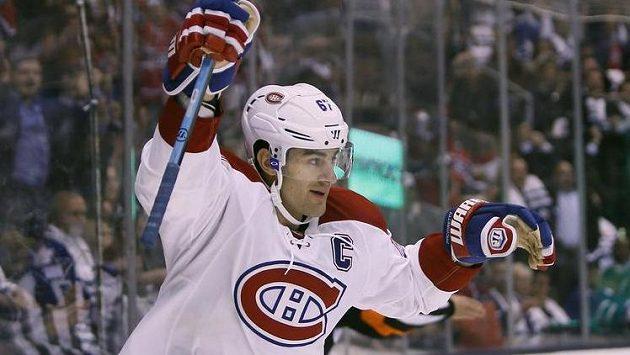 Max Pacioretty z Montrealu jásá, kapitán Montrealu vstřelil v utkání proti Torontu premiérový gól nového ročníku NHL.