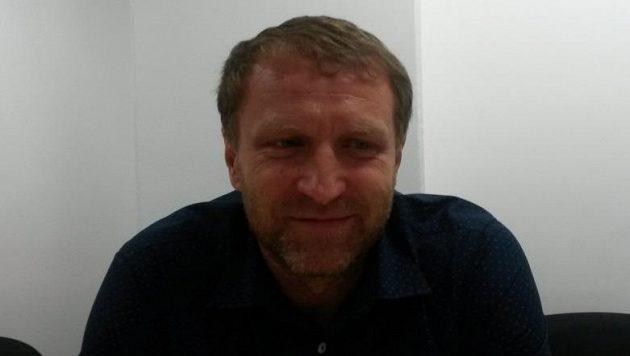 Trenér Ústí nad Labem Aleš Křeček.