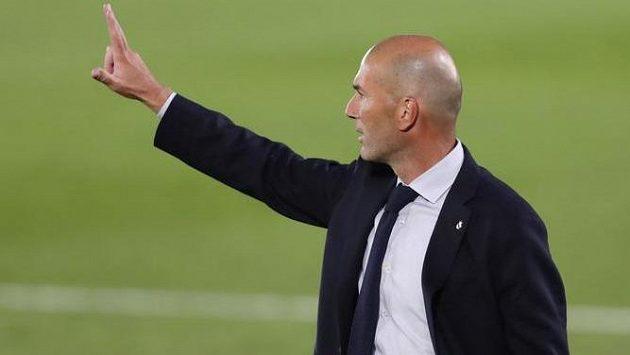 Kouč Realu Madrid Zinedine Zidane