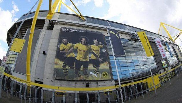 Stadion Dortmundu, ilustrační foto.