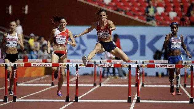 Zuzana Hejnová vstoupila do mistrovství světa úspěšně.