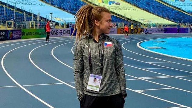 Atletka Barbora Malíková ve smíšené štafetě zabojuje o olympiádu v Tokiu.