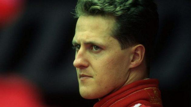 Michael Schumacher na archivním snímku
