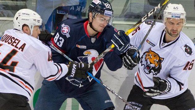 Ruský klub Amur Chabarovsk dostal od vedení KHL pokutu 300 tisíc rublů (ilustrační foto)