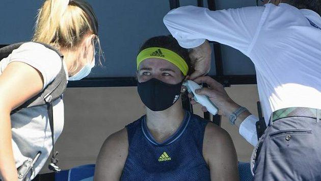 Sestřih čtvrtfinálového zápasu Australian Open Muchová - Bartyová