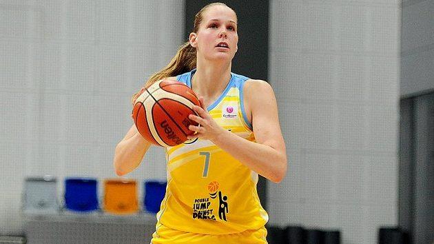 Basketbalistka USK Praha Alena Hanušová.