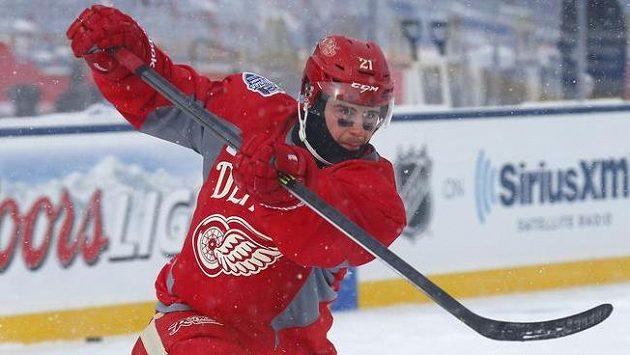 Winter Classic skončil pro detroitského Tomáše Tatara nešťastnou tečkou...
