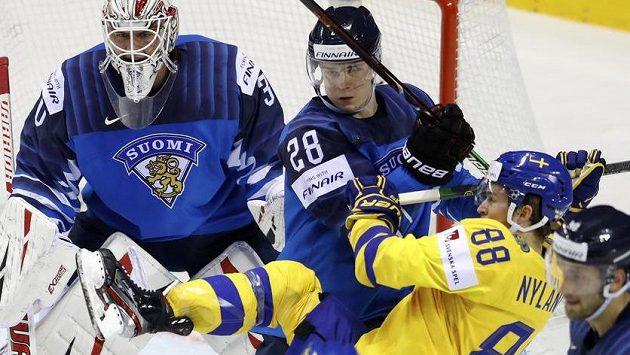 Švédsko ještě v první třetině otočilo zápas.