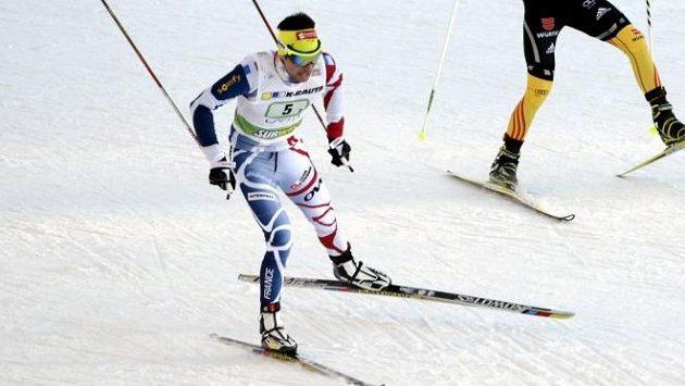 Francouzský lyžar Chappuis.