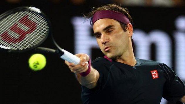 Roger Federe nedal Krajinovičovi ve druhém kole Australian Open šanci