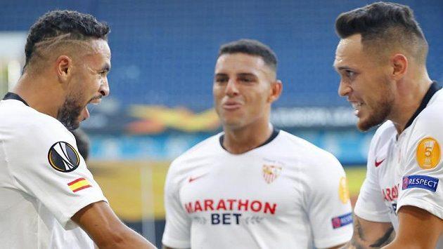 Sevilla měla první poločas zápasu proti AS Řím ve své režii