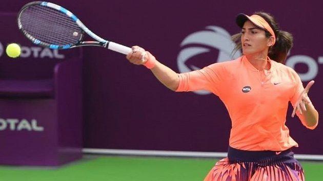 Fatma Al Nabhaniová utkání druhého kola vzdala