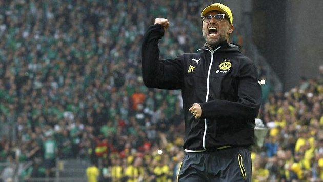 Jürgen Klopp v zápase Borussie Dortmund.