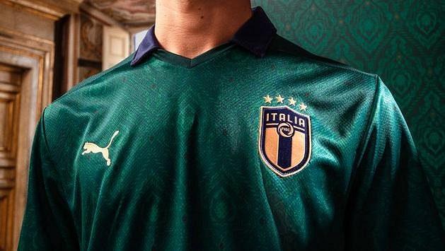 Nový zelený dres pro reprezentaci Itálie budí emoce.