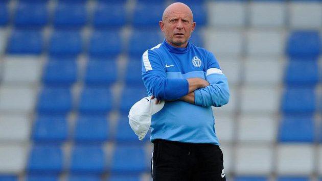 Trenér fotbalistů Mladé Boleslavi Karel Jarolím.