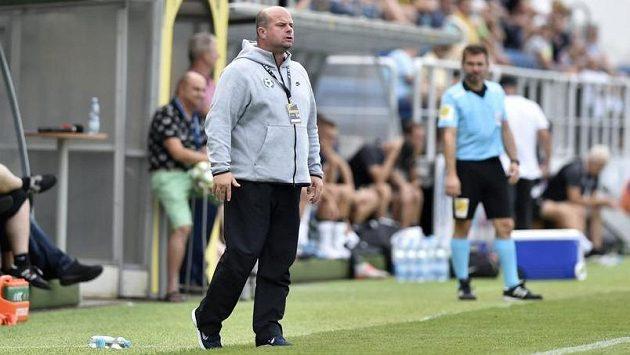 Trenér Příbrami Roman Nádvorník nemohl být s výkonem svého týmu spokojen