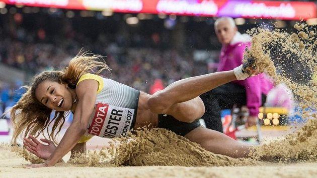 Německá dálkařka Alexandra Westerová na světovém šampionátu v roce 2017 v Londýně.
