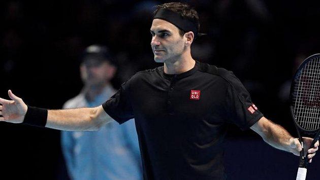 Dominic Thiem zaskočil na Turnaji mistrů slavného Federera