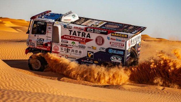 Martin Šoltys na písečné duně.