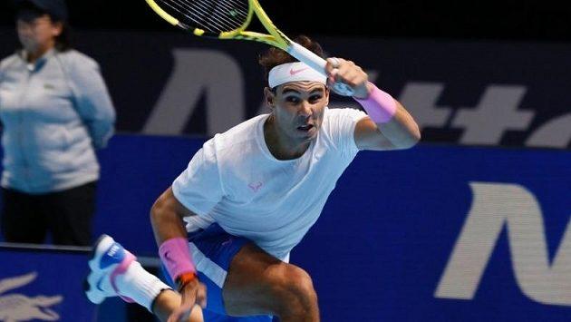 Legendární Rafael Nadal v akci