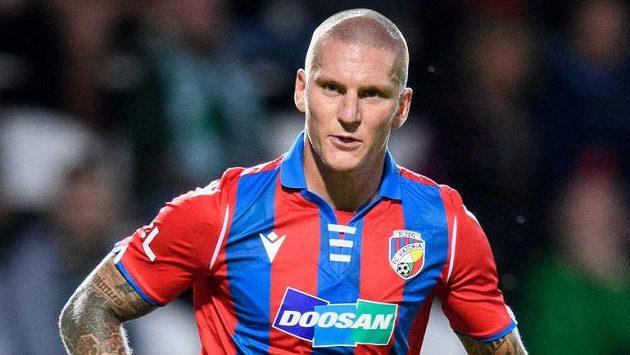 Zdeněk Ondrášek během debutu za Viktorii Plzeň.