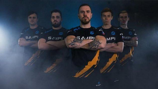 Team Sampi se v sedmém kole COOL ligy představí proti Eclot.