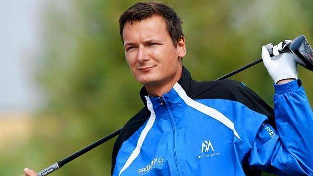 Golfista Ondřej Lieser na archivním snímku