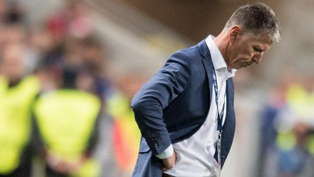 Trenér Jaroslav Šilhavý končí na lavičce Slavie.