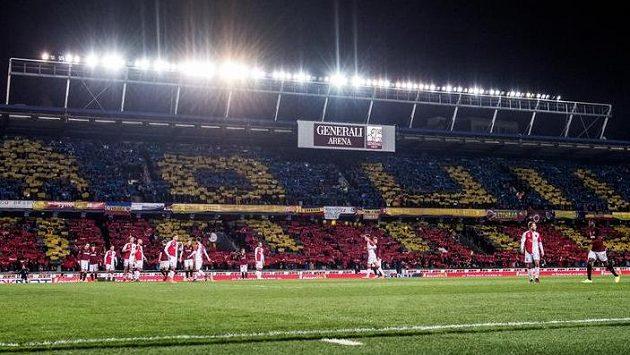 Plný dům zažila Letná v lize naposledy v derby se Slavií.
