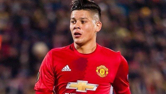Zadák Manchesteru United Marcos Rojo ukončil předčasně dovolenou v Dominikánské republice.
