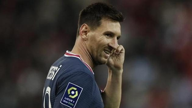 Lionel Messi poprvé v dresu francouzského giganta