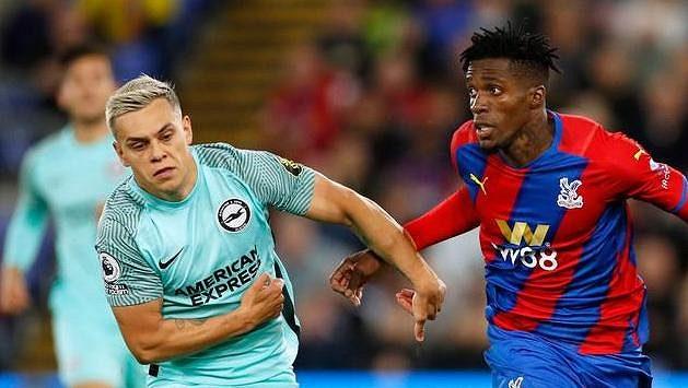 Fotbalisté Brightonu remizovali v dohrávce 6. kola anglické ligy s Crystal Palace