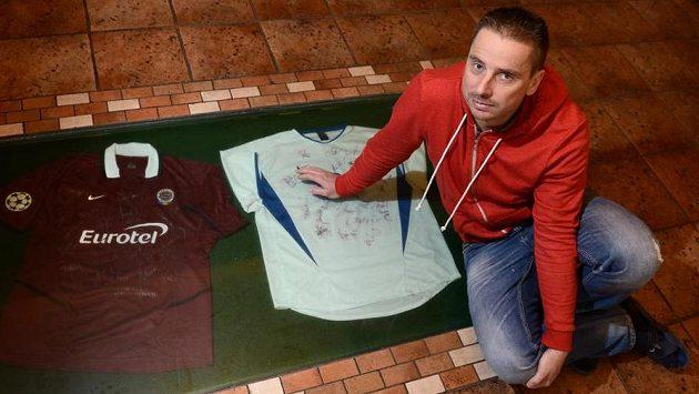 Bývalý fotbalista Slovanu Liberec a Sparty Praha Rastislav Michalík ve svém penzionu RaMi ve slovenské Oščadnici.