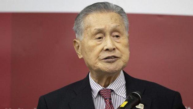 Prezident organizačního výboru Joširo Mori