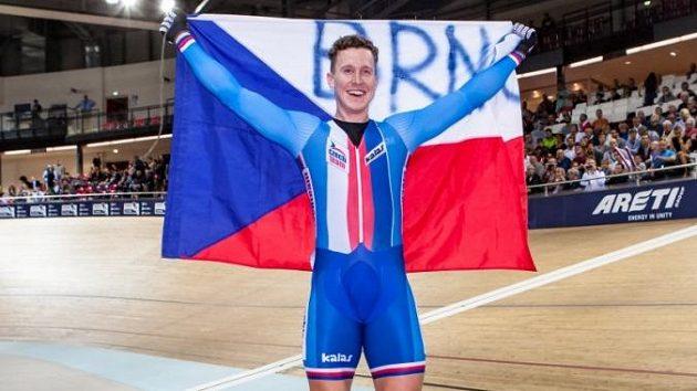 Nejlepší český dráhový cyklista posledních let Tomáš Bábek
