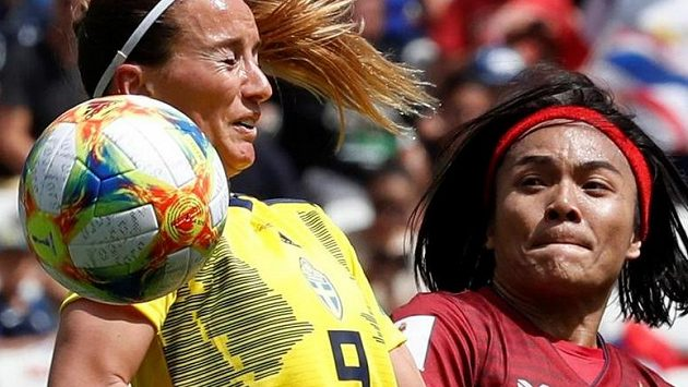 Švédské fotbalistky si připsaly bezproblémové vítězství