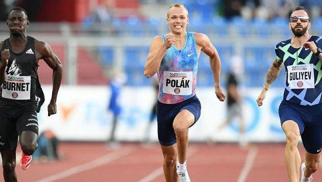 Jiří Polák se kvalitním časem blýskl i na Zlaté tretře.
