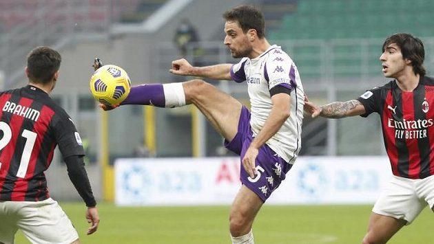 Fotbalisté AC Milán si poradili s Fiorentinou