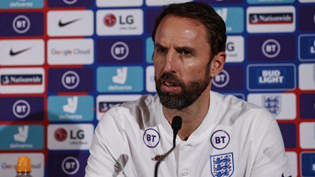 Trenér anglické fotbalové reprezentace Gareth Southgate