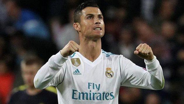 Cristiano Ronaldo z Realu. Ilustrační snímek.
