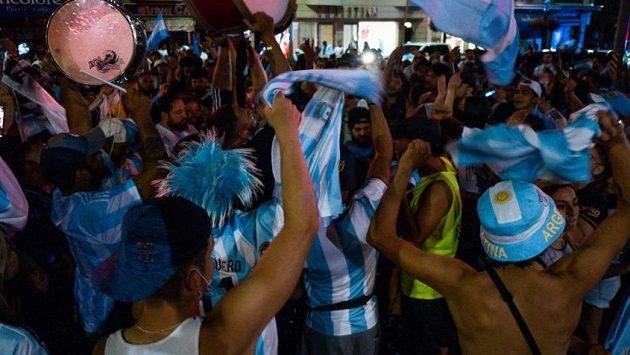 fanoušci Argentiny (ilustrační foto)