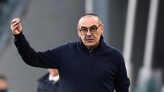 Trenér Juventusu Turín Maurizio Sarri