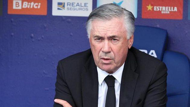 Trenér fotbalistů Realu Madrid Carlo Ancelotti
