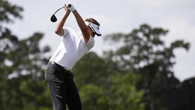 Ian Poulter na turnaji v Houstonu.