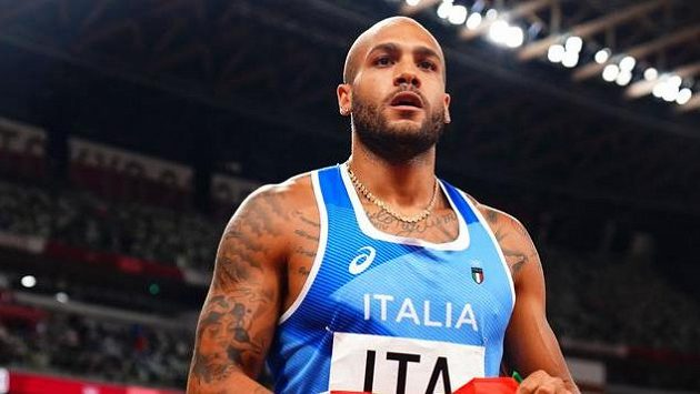 Italský sprinter Lamont Marcell Jacobs