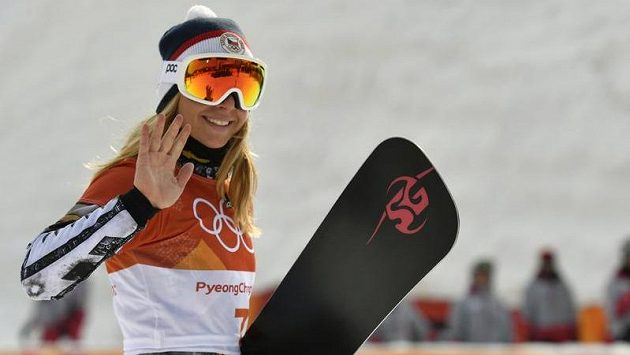 Ester Ledecká se veze na úspěšné vlně.