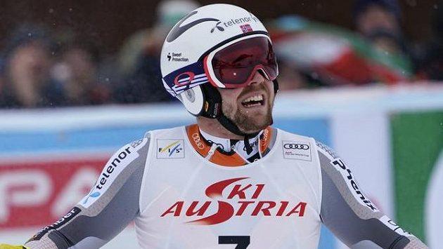Aleksander Aamodt Kilde vyhrál superobří slalom SP v Saalbachu