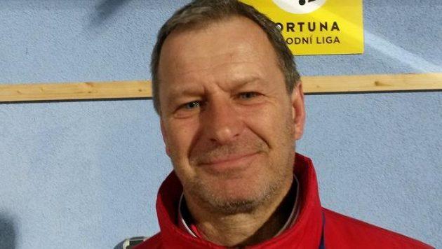 Trenér fotbalových Pardubic Jiří Krejčí.