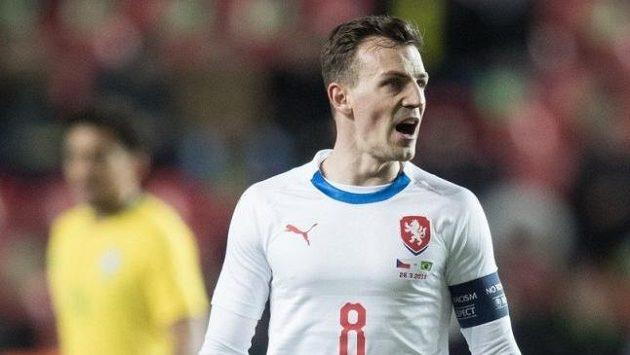 Vladimír Darida v dresu národního týmu
