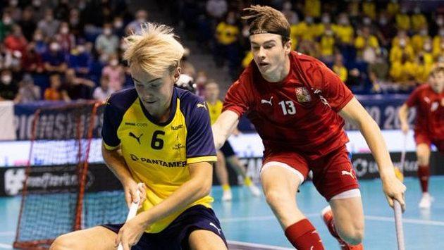 Mladí čeští florbalisté postoupili do finále po vítězství nad Švédy